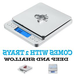 0.1gram precision jewelry electronic digital balance weight