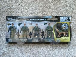 1/18 Scale Elite Force Army Rangers 5 Pack SetAction Figur