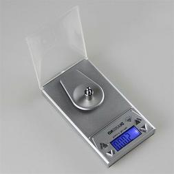 10/20/50G 0.001g LCD Digital Jewelry Scale Lab Gold Herb Bal