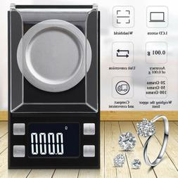 100g/0.001g Digital Milligram Scale High Precision Jewelry B