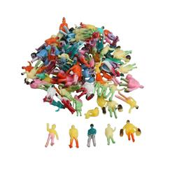 100x 1:200 Painted Model People Figures for any Scale Modell
