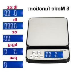 110 LB x 0.1oz Digital Postal Shipping Scale Weight Postage