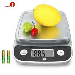 1Byone 11lb/5kg Digital Multifunction Kitchen Food Scale Coo