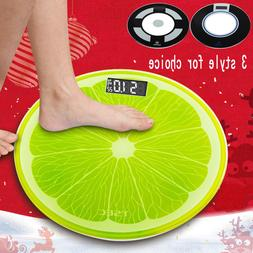 180KG Electronic Digital Personal Scale Household Circular G