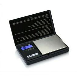AWS AWS250BLK Black Digital Weight Scale