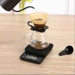 Digital Coffee Scale with Timer and Tare Function 0.1g, Kitc