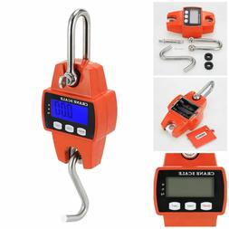 300KG/660LBS Mini Crane Scale Industrial Hook Hanging Weight
