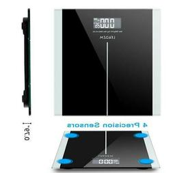 396lb 180kg Digital Bathroom Body Weight Scale HD LCD Health