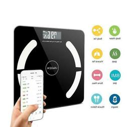396lb Bluetooth Smart Scale Digital Body Fat Weight Muscle A