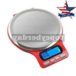 3kg/0.1g Electronic Kitchen Scale Scales Weight Stainless St
