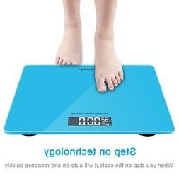 400lb Digital Body Weight Scale Bathroom Fitness Backlit LCD