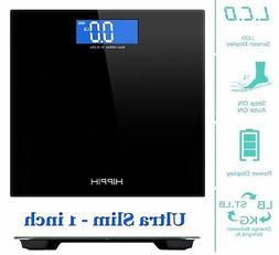400lb LCD Digital Bathroom Body Weight Scale Tempered Glass