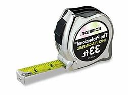Komelon 433IEHV High-Visibility Professional Tape Measure bo