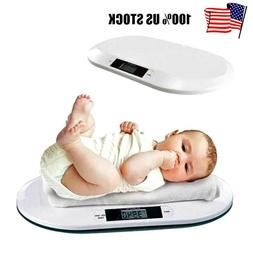 44 LBS Digital Baby Scale Infant Weight Scale Electronic Pet