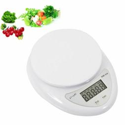 5 kg/1g Digital Kitchen Scale Food Cooking Weight in Pounds