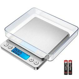 Amir 500g/0.01g Digital Kitchen Scale, High-precision Pocket