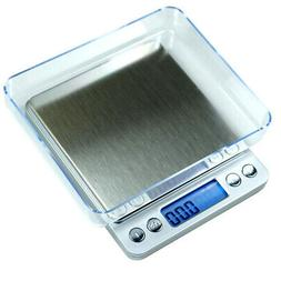 500g x 0.01g Digital Jewelry Precision Scale w/ Piece Counti