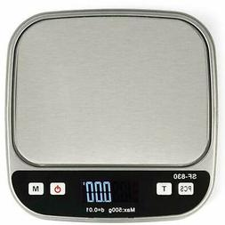 500g x 0.01g Precision Digital Scale Jewelry Gold Coin Weigh