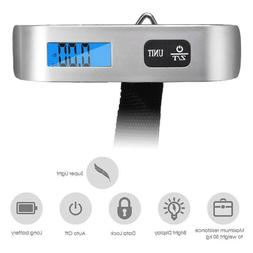 50KG Digital Hanging Luggage Scale Weight Hand-held Electron