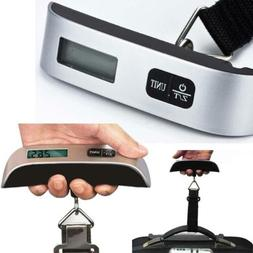 50kg Digital Travel Weighing Luggage Scales Handheld Electro
