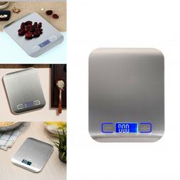 5kg Stainless Steel Digital Electronic Kitchen Cooking Food