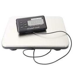 660LBS LCD Digital Floor Bench Scale Postal Platform Shippin