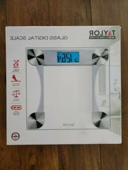 Taylor 7595 Glass Digital Scale with Weight Tracking