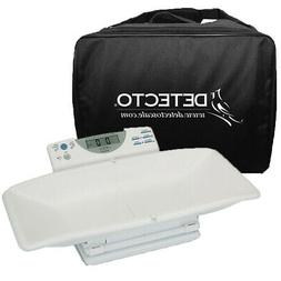 Detecto 8440 Digital Baby and Toddler Scale and Carrying Cas