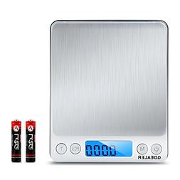 GDEALER DS1 Digital Pocket Kitchen Multifunction Food Scale