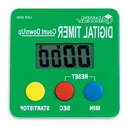 Learning Resources LER4339 Digital Timer, Count Down/Up