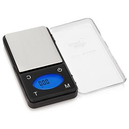 Smart Weigh High Precision Ultra Slim Digital Portable Pocke