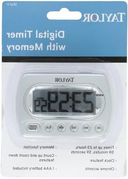Taylor Precision Products Digital Timer with Memory