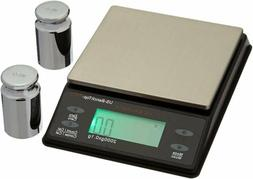 US BALANCE Backlit LCD Display Table Scale, 2000 x 0.1gm, Bl