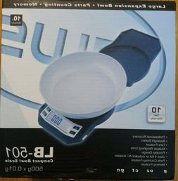 American Weigh Scales LB-501 Digital Kitchen Scale New