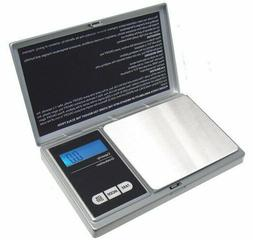 American Weight Scales AWS1KGSIL Silver Digital Pocket Scale
