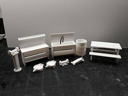 Auto shop tools and more 1/24 1/25 scale diorama model