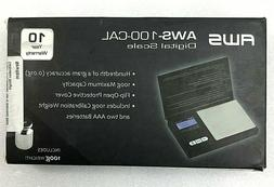 American Weigh Scales AWS-100-CAL Digital Kitchen Pocket Sca