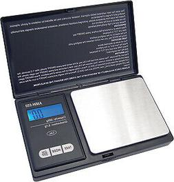 American Weigh Scales AWS-600-BLK Pocket Digital Personal Nu