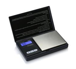 AWS-1KG-BLK Digital Pocket Scale 1000g x 0.1g American Weigh