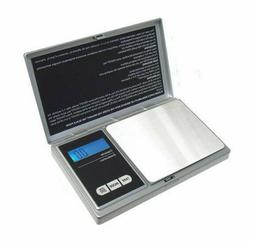 American Weigh Scales AWS1KGSIL Digital Pocket Scale - Silve