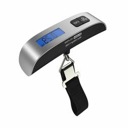 Backlight LCD Display Luggage Scale Dr.meter 110lb/50kg Elec
