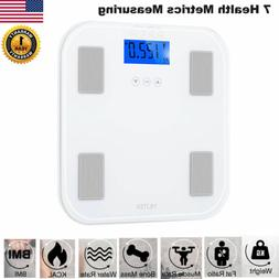 Bathroom LCD Digital Scales Weight Scale Smart Body Fat BMI