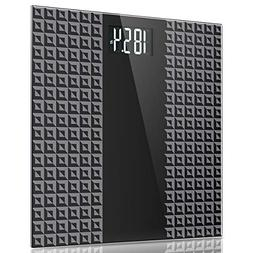 Digital Body Weight Bathroom Scale - Large Backlit Display w