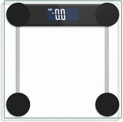 Bathroom Scale Digital Electronic LCD Body Weight Tempered G