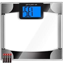 Kasonic Digital Body Weight Bathroom Scale - Large Digits LC