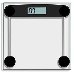 Anferstore Digital Body Weight Bathroom Scale Tempered Glass
