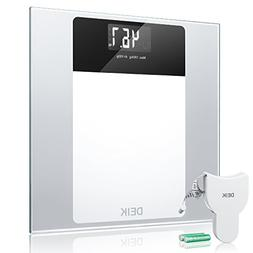 Deik Digital Body Weight Bathroom Scale with Step-On Technol