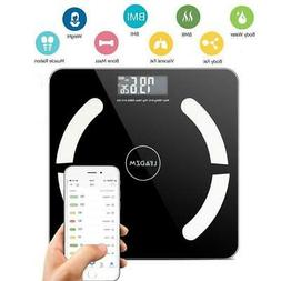 Bluetooth Smart Digital Scale Body Fat Muscel Weight Scales