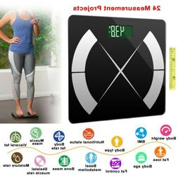 Bathroom Smart Scales Weight Scale Body Fat Bones BMI Digita