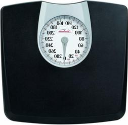 Bathroom Weight Scale Body Health Fitness Fat Black Mechanic